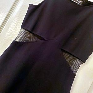 5/25 All that jazz Black Spandex  fitting dress